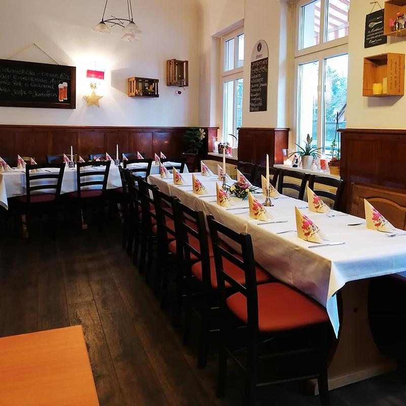 Gaststätte Daus-Berg in Werder an der Havel - Feierlichkeiten Tisch Dekoration3